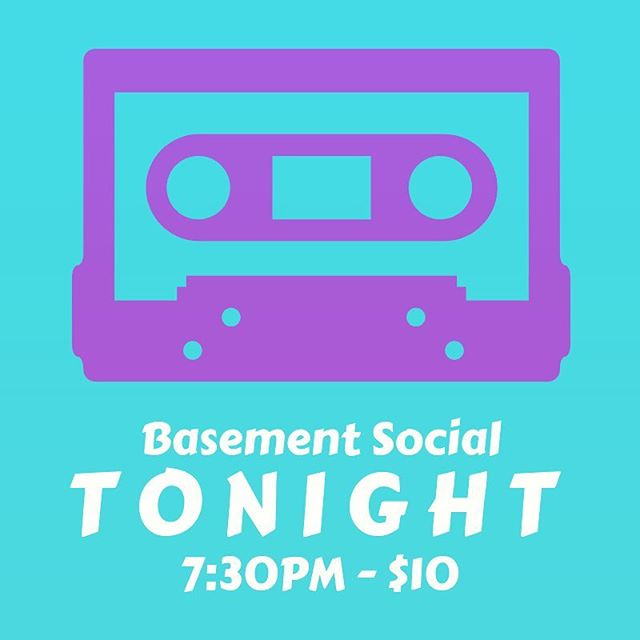 TONIGHT IS THE NIGHT! Tonight is the night! So excited for our Basement Social show! Bring a friend and come watch some music and comedy here at Manhattanville Coffee! Doors open at 7:30PM! . @basementsocialnyc