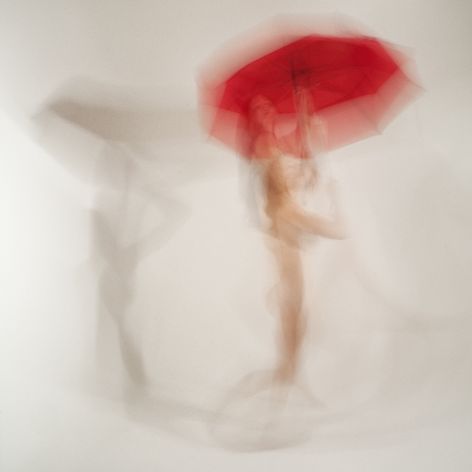 Nude with Umbrella