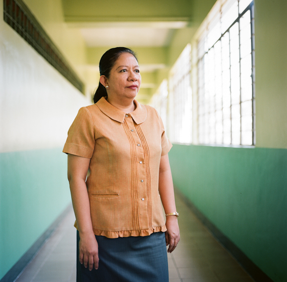 Ms. Carina Salgado, Home Economics teacher./ ©Stella Kalaw
