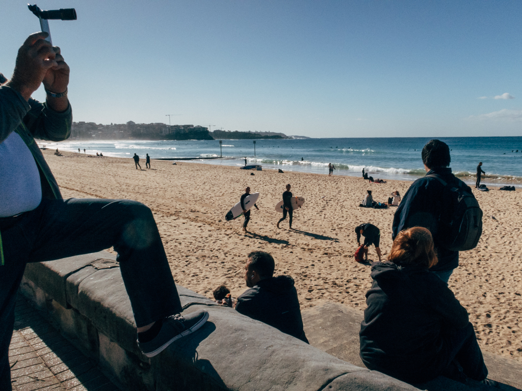 Manly Beach, July 2017