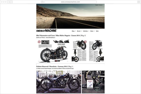 One Way Machine Custombikes -Lollar