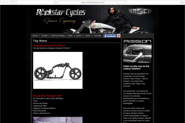 Rockstar Cycles Custombikes -Lollar