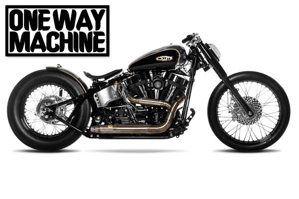 "One Way Machine  Custom Bike ""Quartermile"" - Gießen"