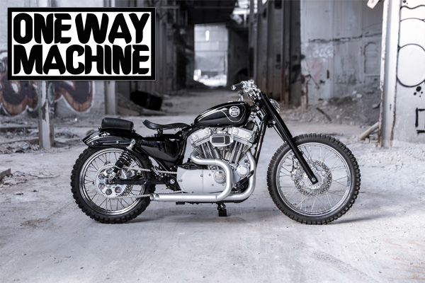 """One Way Machine  Custom Bike """"Urban Scrambler"""" - Gießen"""