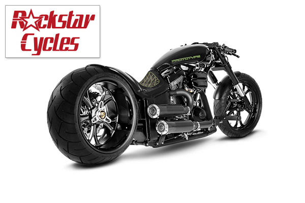 "Rockstar Cycles  Custom Bike ""Prototype"" - Gießen"