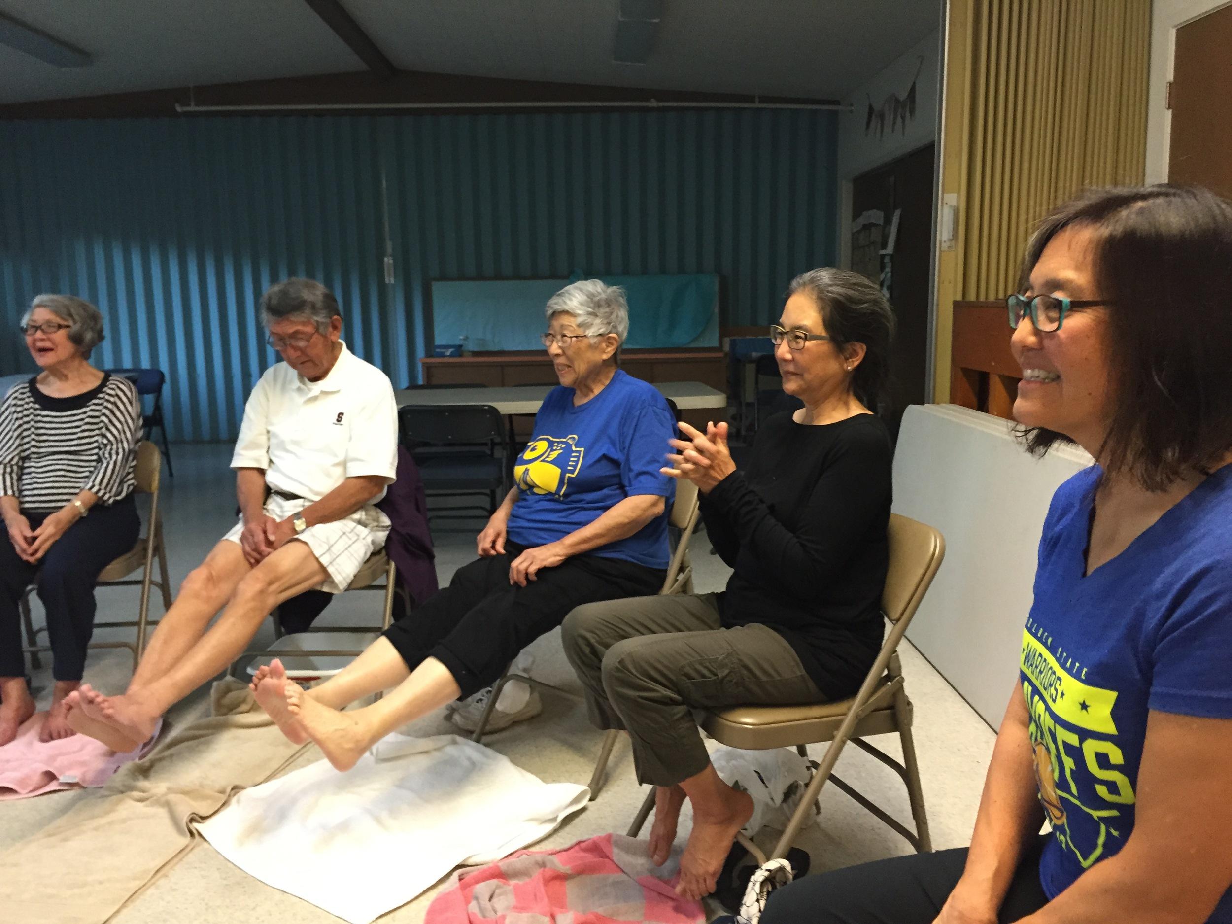 reiki and healing arts participants
