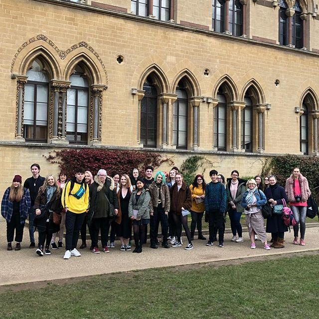 Student trip to oxford