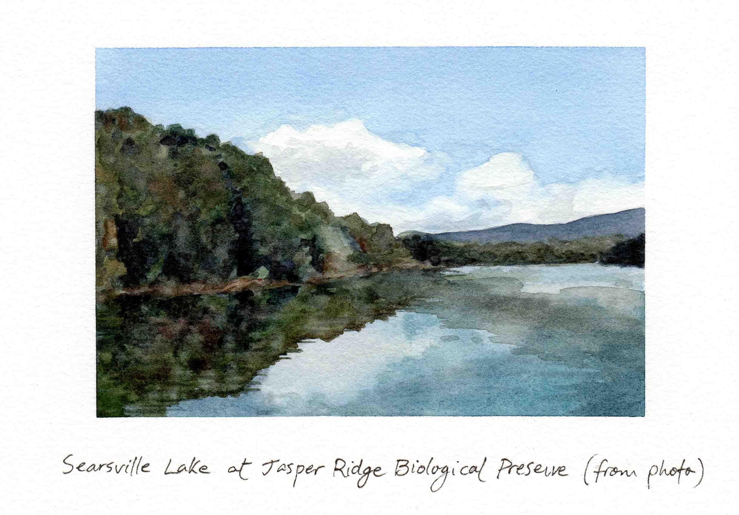 Searsville Lake