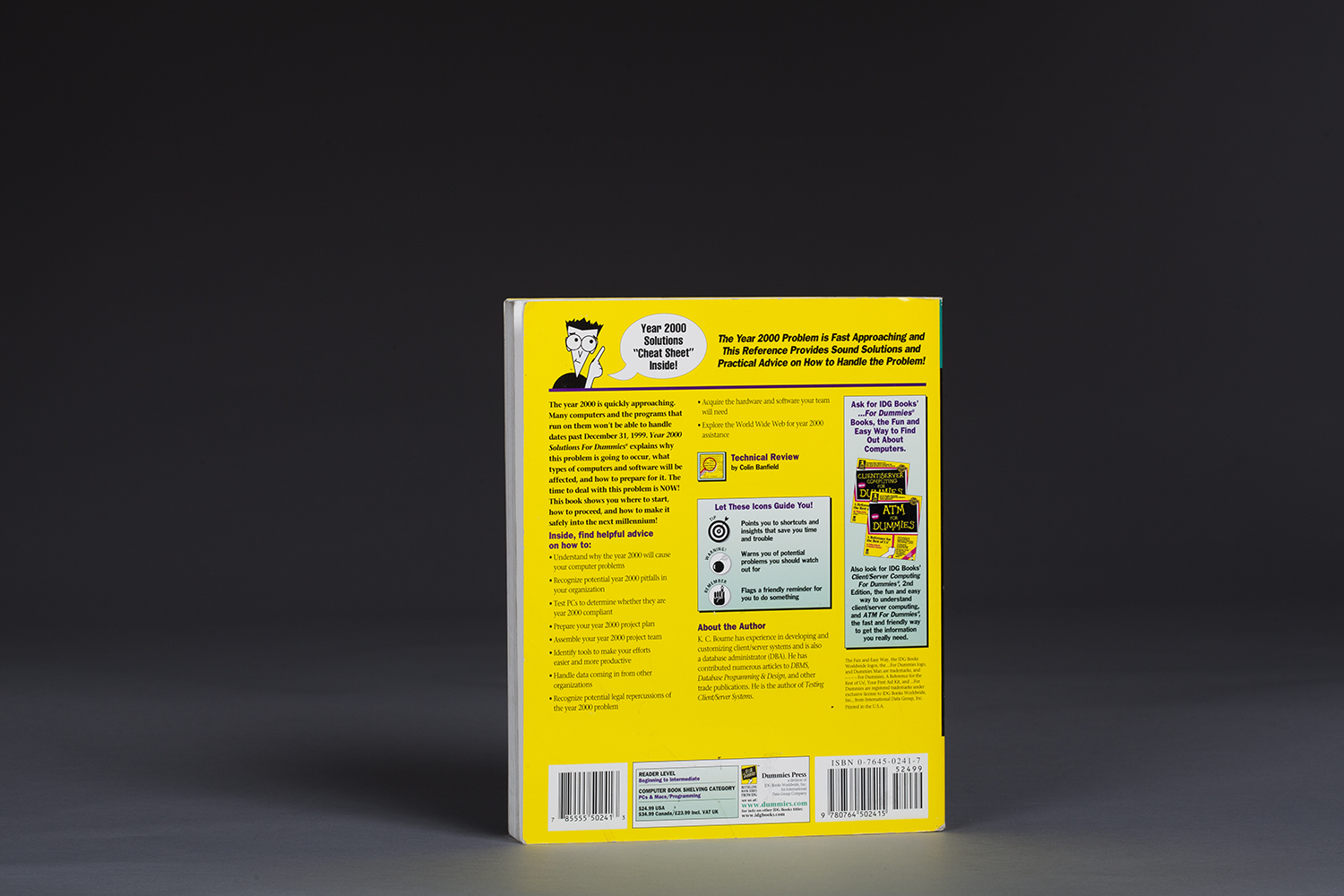 Year 2000 Solutions for Dummies - 0029 Back.jpg