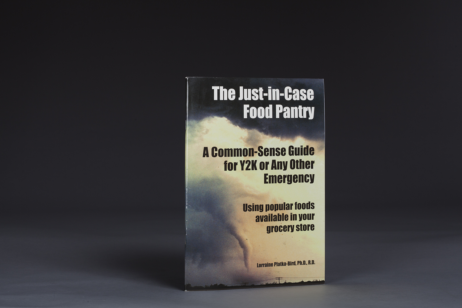 The Just-in-Case Food Pantry - A Common-Sense Guide for Y2K - 0702 Cover.jpg