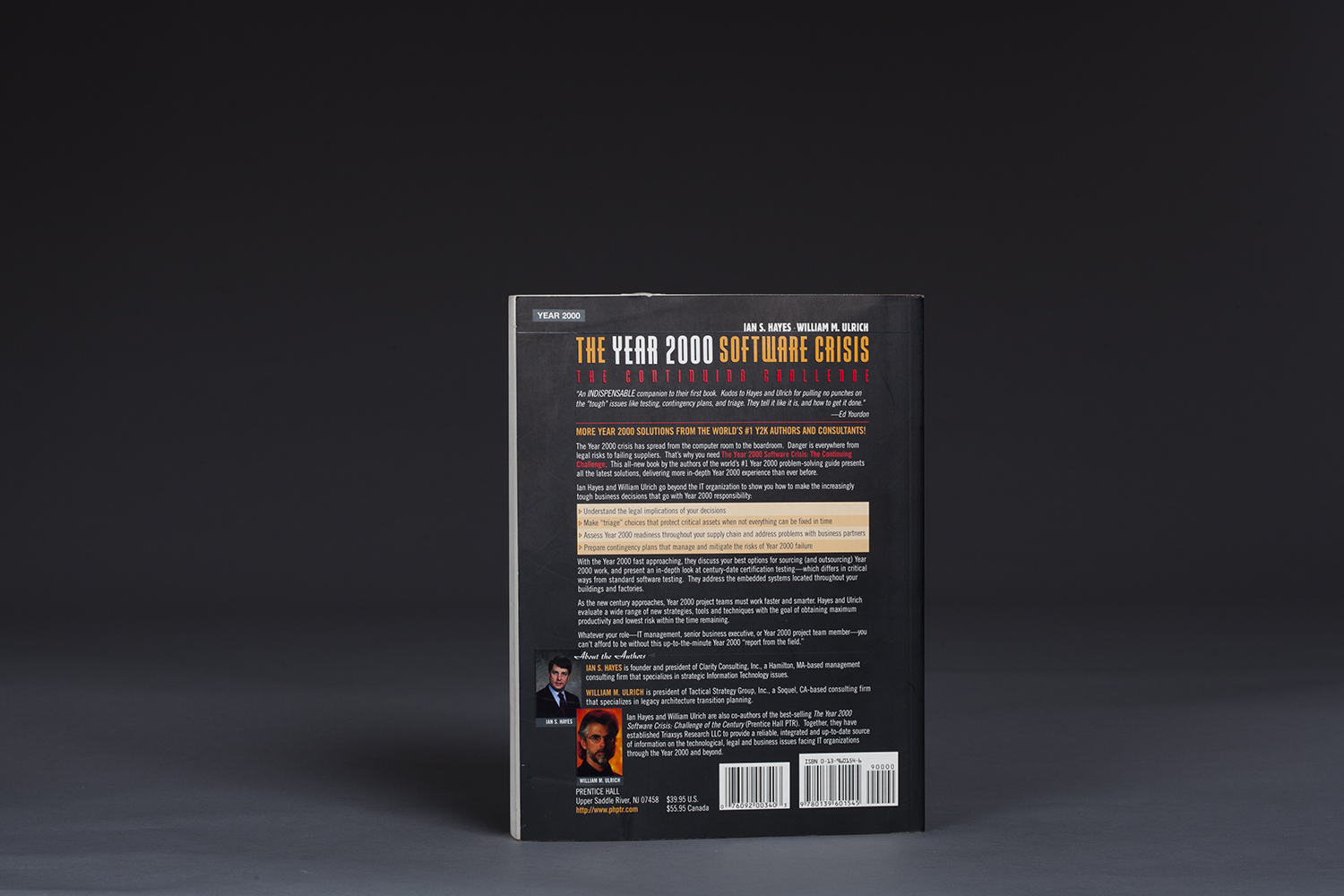 The Year 2000 Software Crisis - The Continuing Challenge - 0651 Back.jpg
