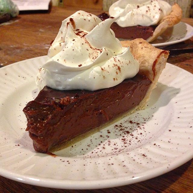 @les_is_more made #chocolate #pudding #pie  I'll buy that for $240!  Awww yeaaahhhh