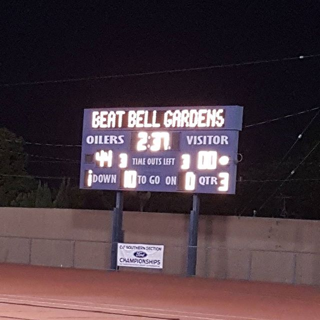 Montebello Oilers is up 44 too 00