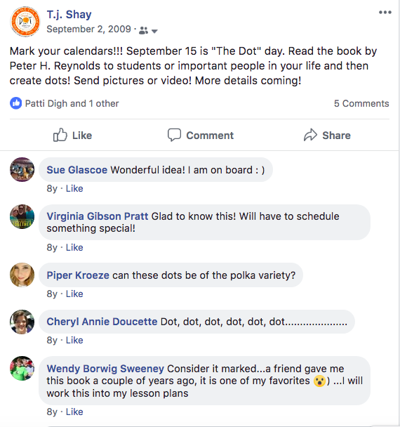 First Dot Day Facebook Post P1