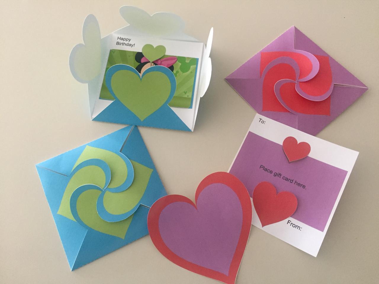 Folding Heart Note