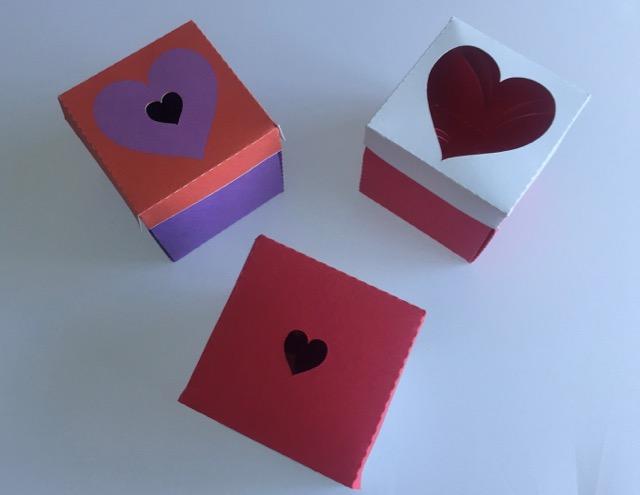 Heart Explosion Box (Closed)