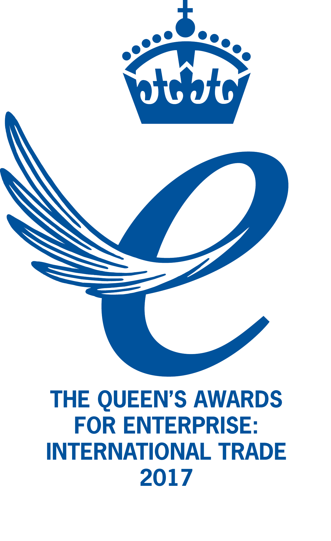 Queen's Awards for Enterprise- International Trade 2017 Emblem.png