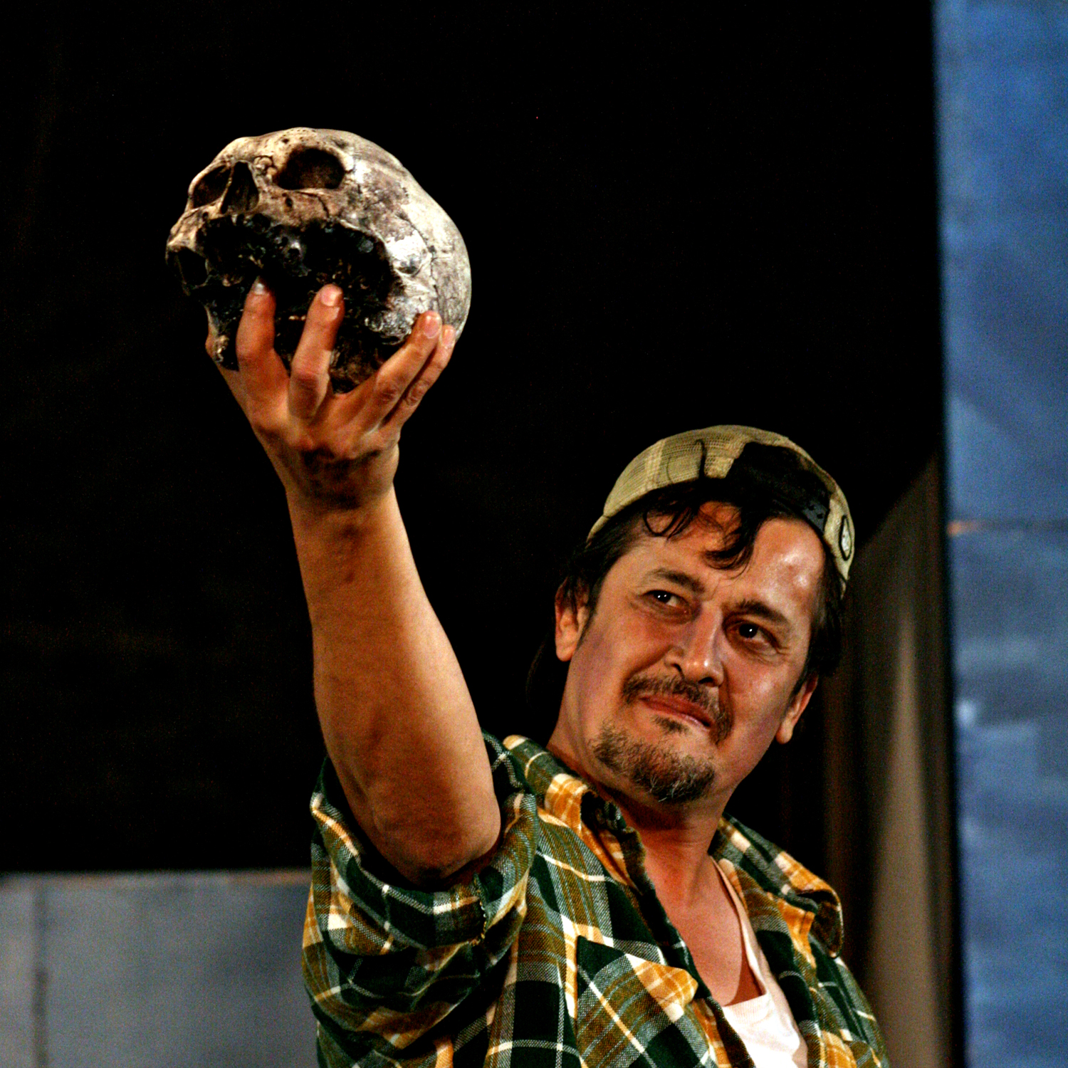 Luis Galindo in Hamlet, 2011. Photo: Ivy Augusta
