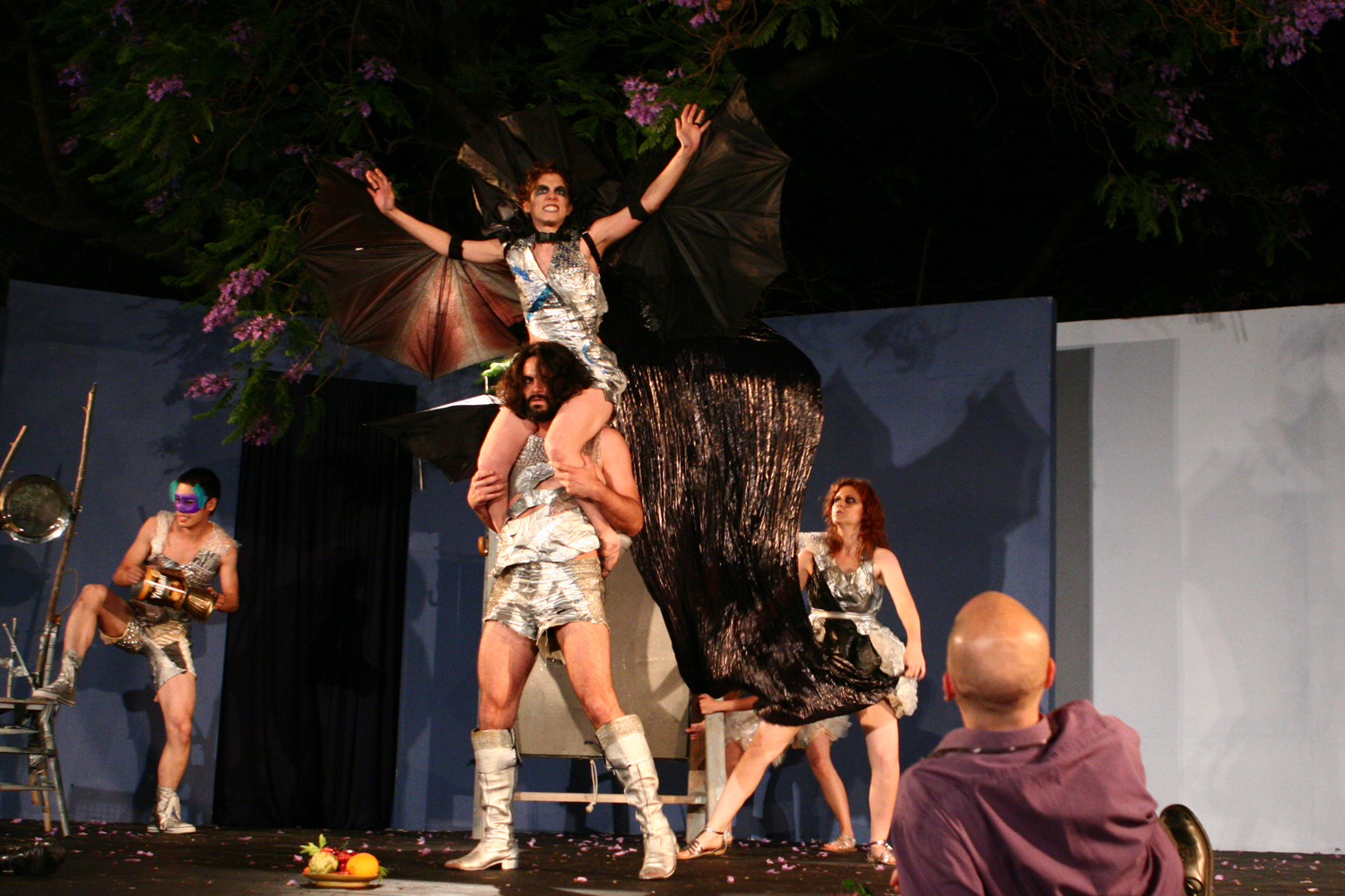 The Tempest, Barnsdall Park, 2009. Photo, Peter Alton.