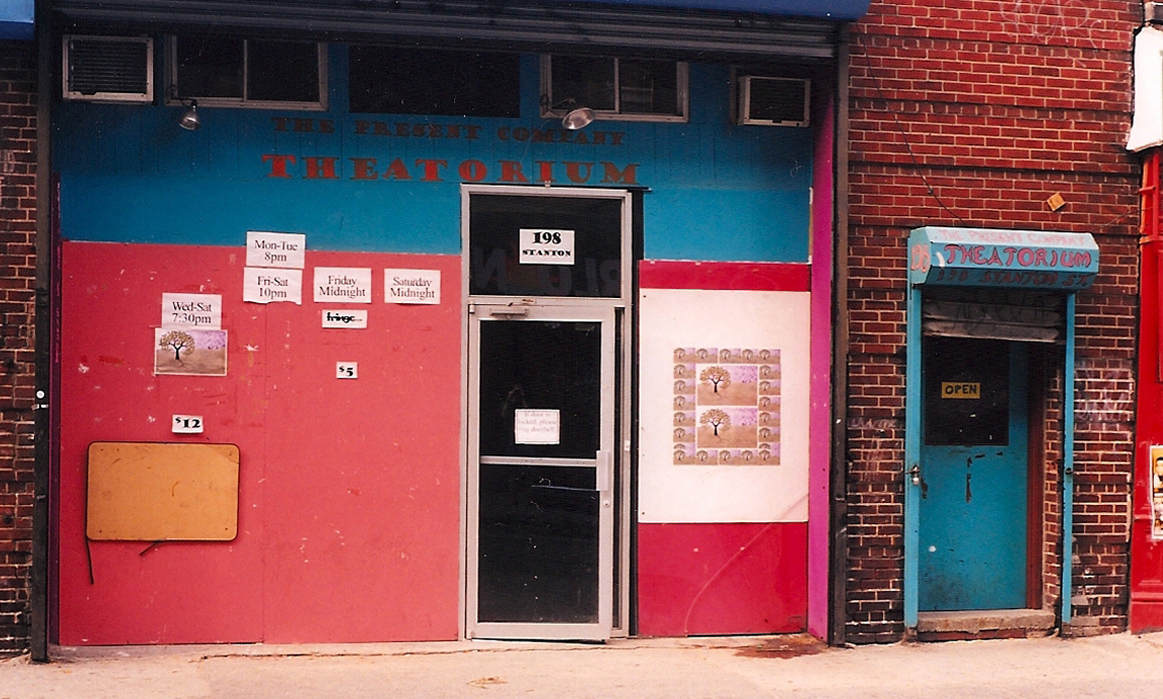 The Theatorium. Our first performance venue. New York City, 1999.