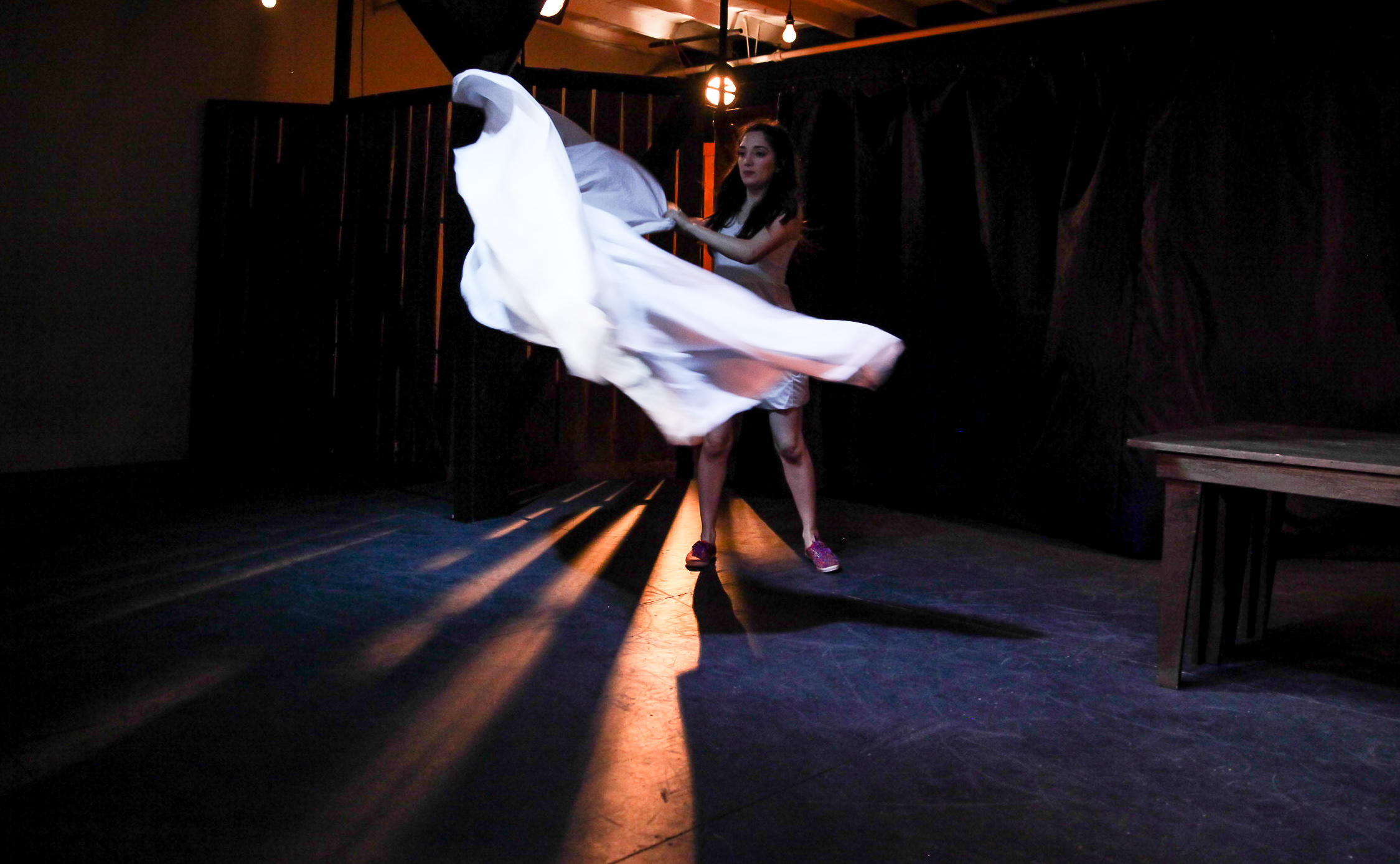 Erika Soto as Juliet, 2014. Photo: Grettel Cortes.