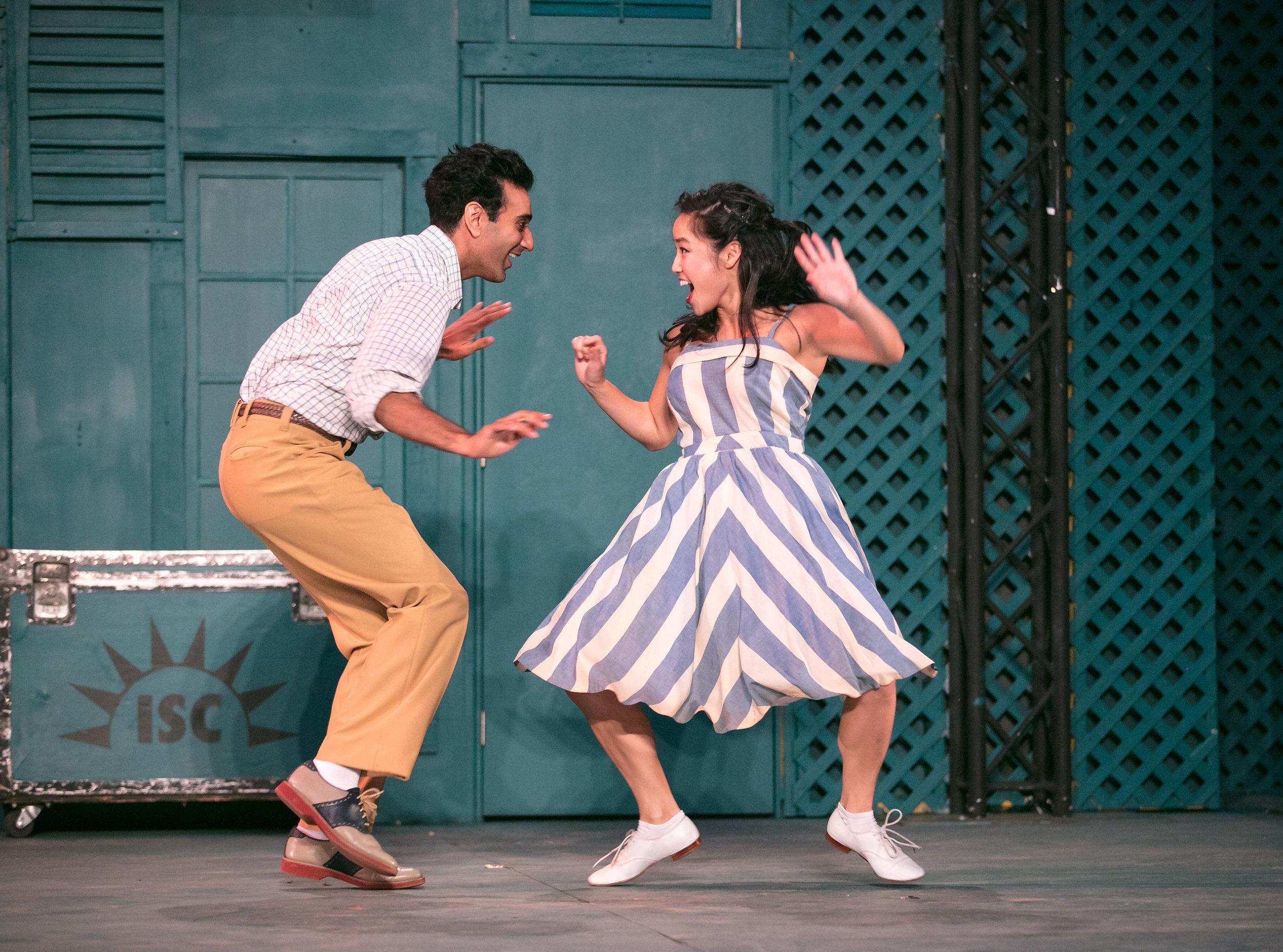 Nikhil Pai and Sylvia Kwan. Photo: Grettel Cortes
