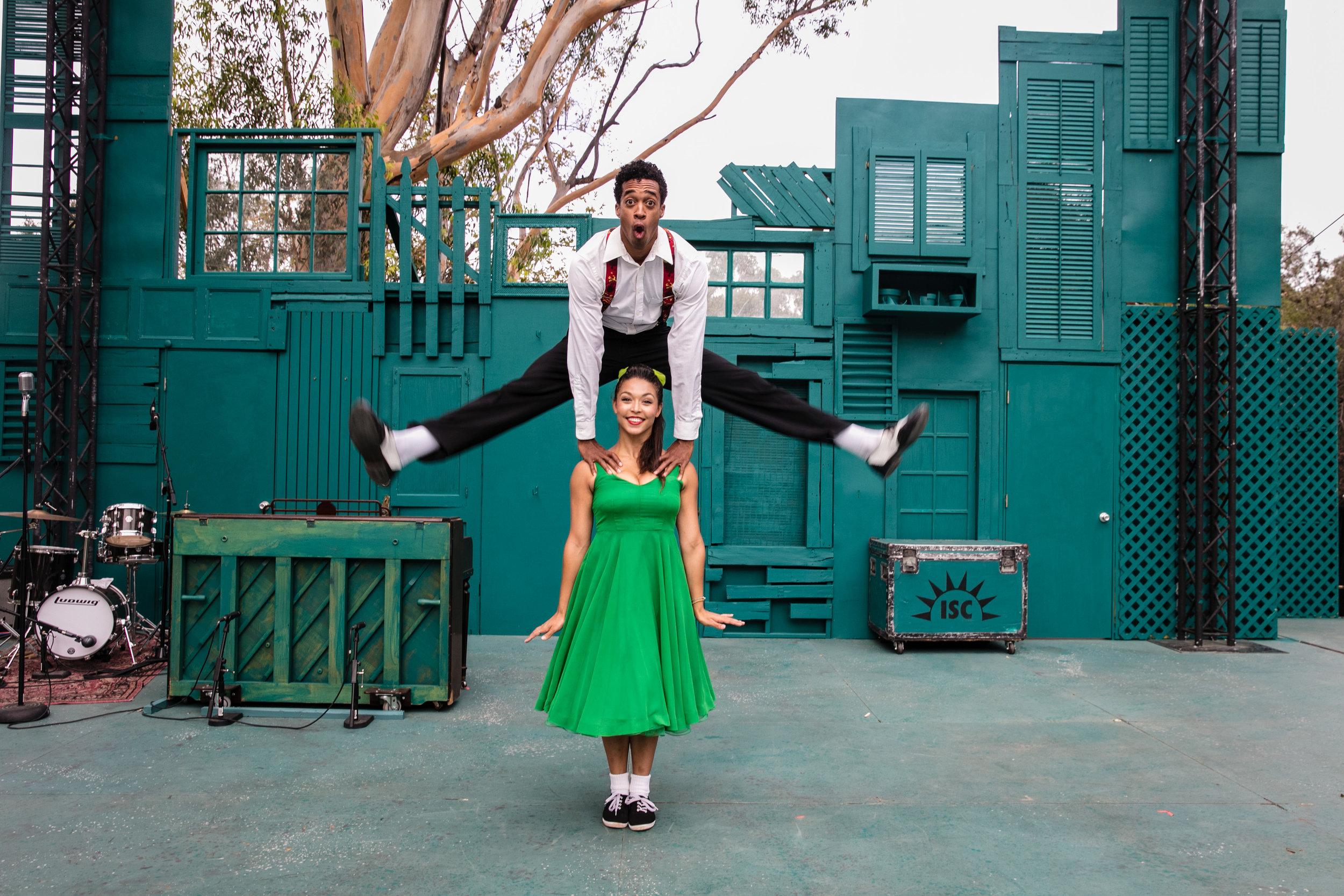 Patrick Batiste and Katie Powers-Faulk. Photo: Grettel Cortes