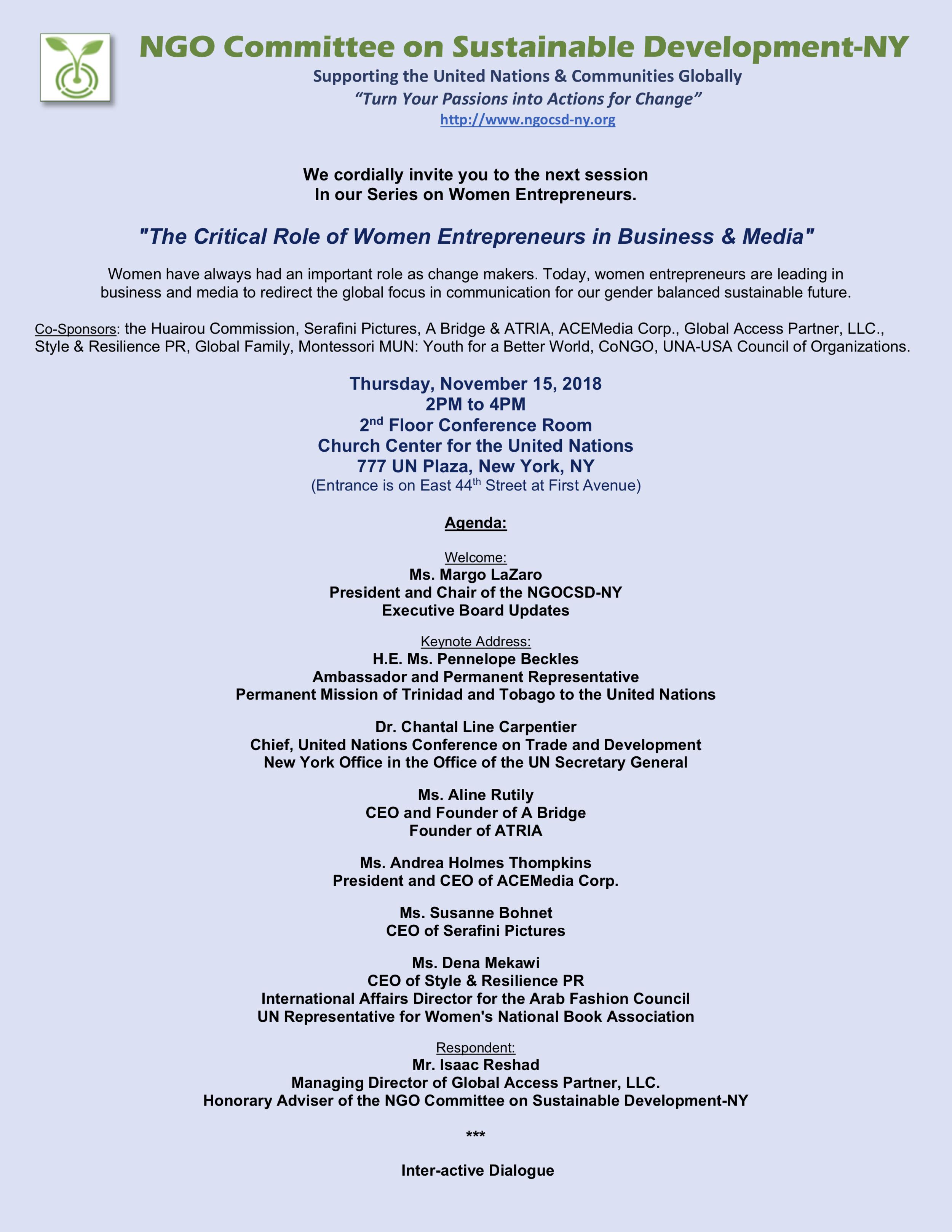 NGOCSD-NY 11-15-18 Women Entrepreneurs Series Invitation A2.png