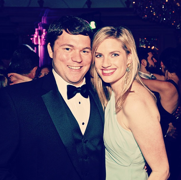 Elise and her husband Kyle