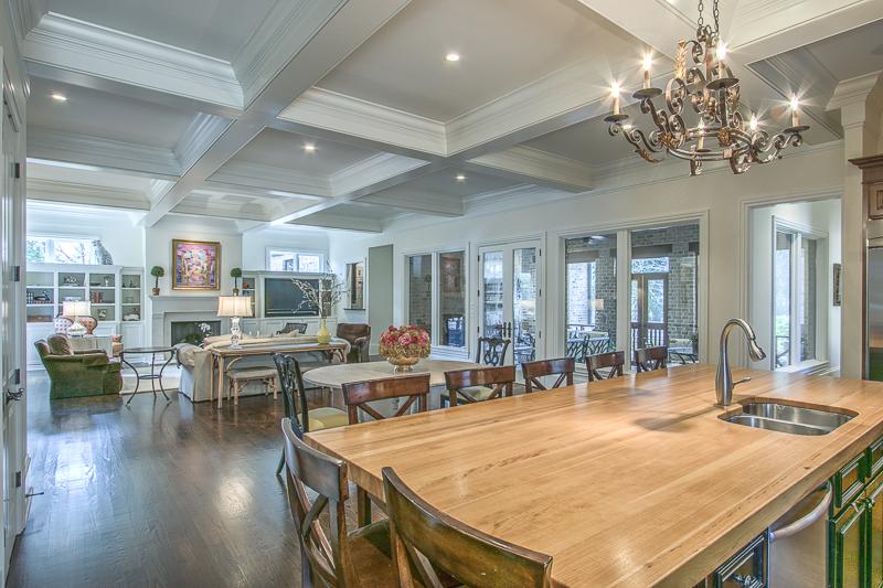 Kitchen - beams - Art Lover's Dream Home