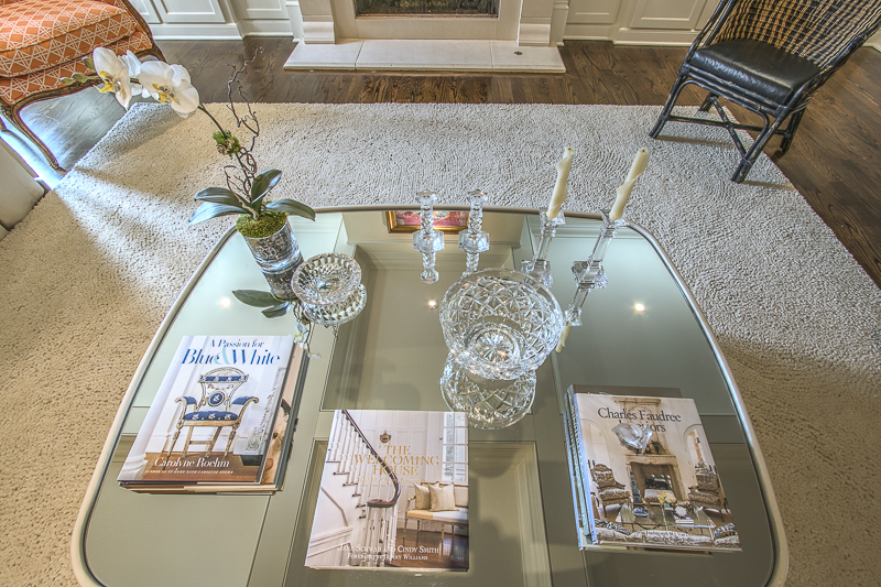 Coffee Table Detail - Art Lover's Dream Home