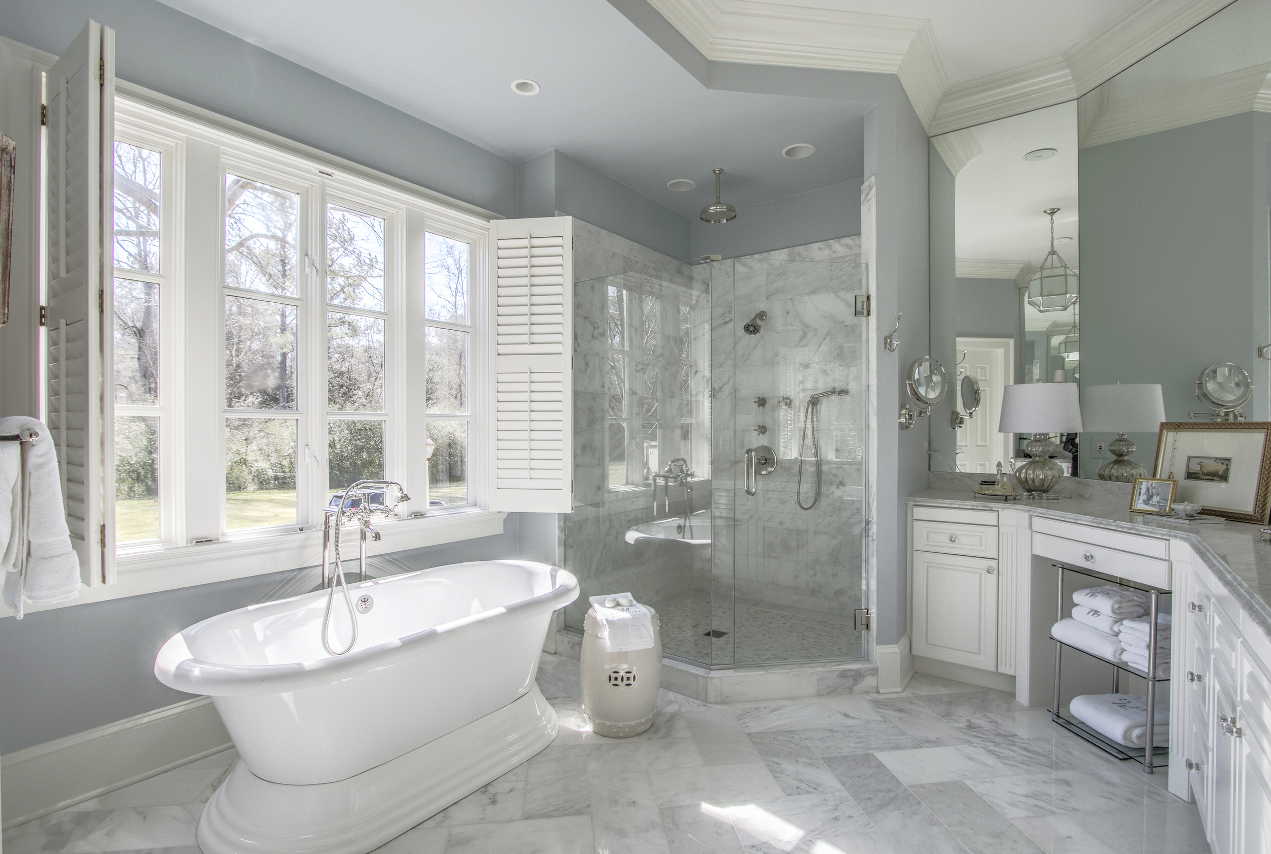 Window over bathtub