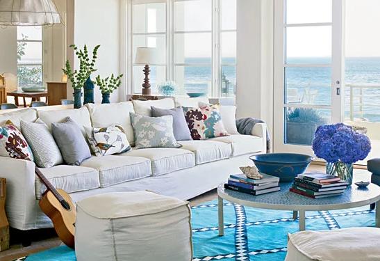 Living Room to Beach
