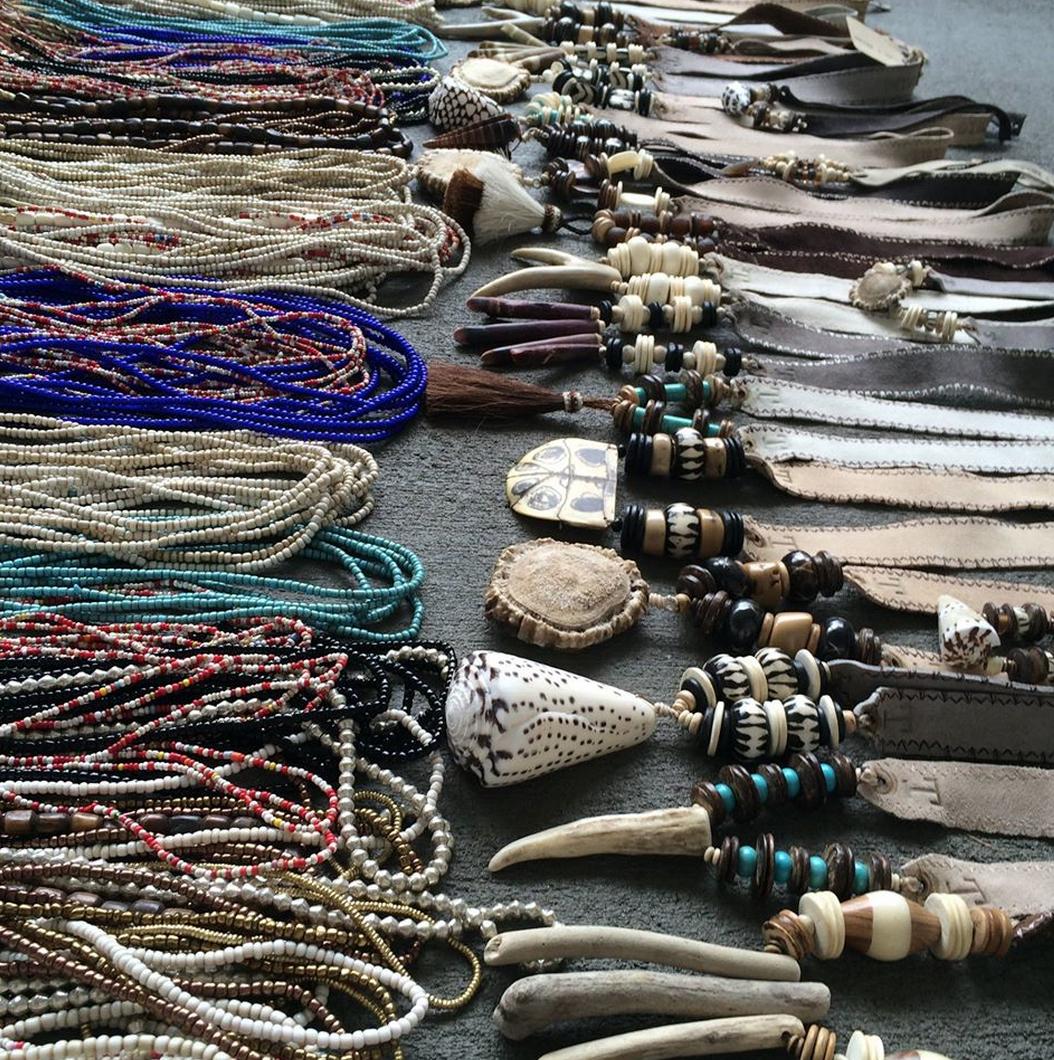 Twine & Twig  &  Cordani  Necklaces at  Sloan Boutique -  Source