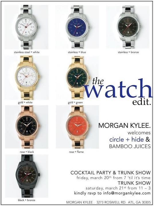 Morgan Kylee Watch invite.