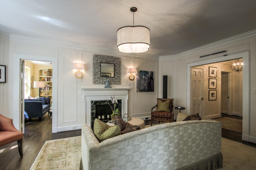 Living room reid house