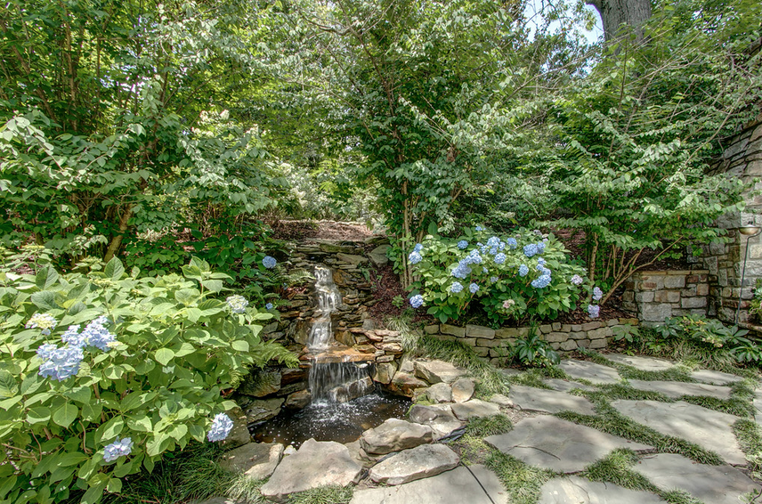 Stacked Stone Pond
