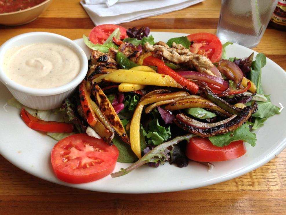 La Fonda Pork and Mango Salad