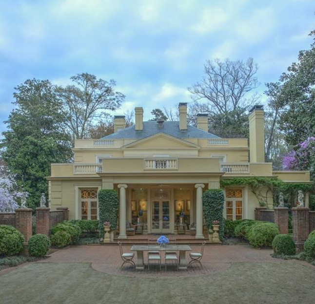 Classic Atlanta home by Cooper and Cooper
