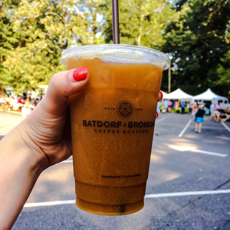 Batdorf & Bronson  - my favorite iced coffee