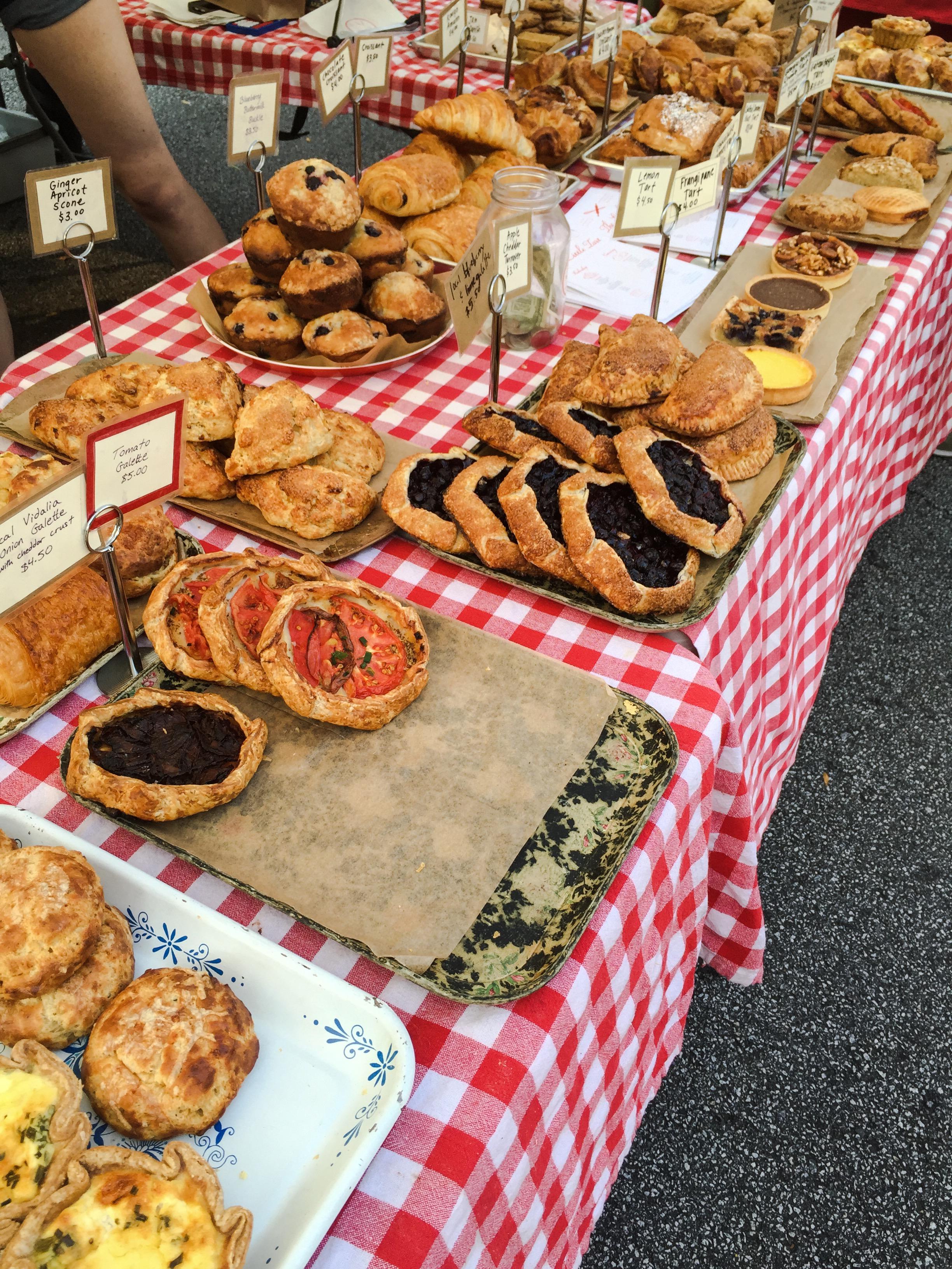 Baked goods from  Little Tart Bakeshop