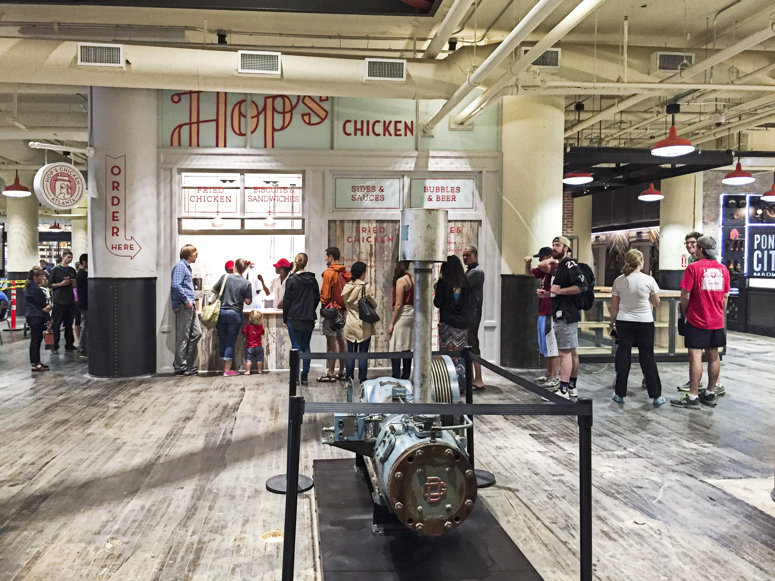 Hops Chicken - Ponce City Market