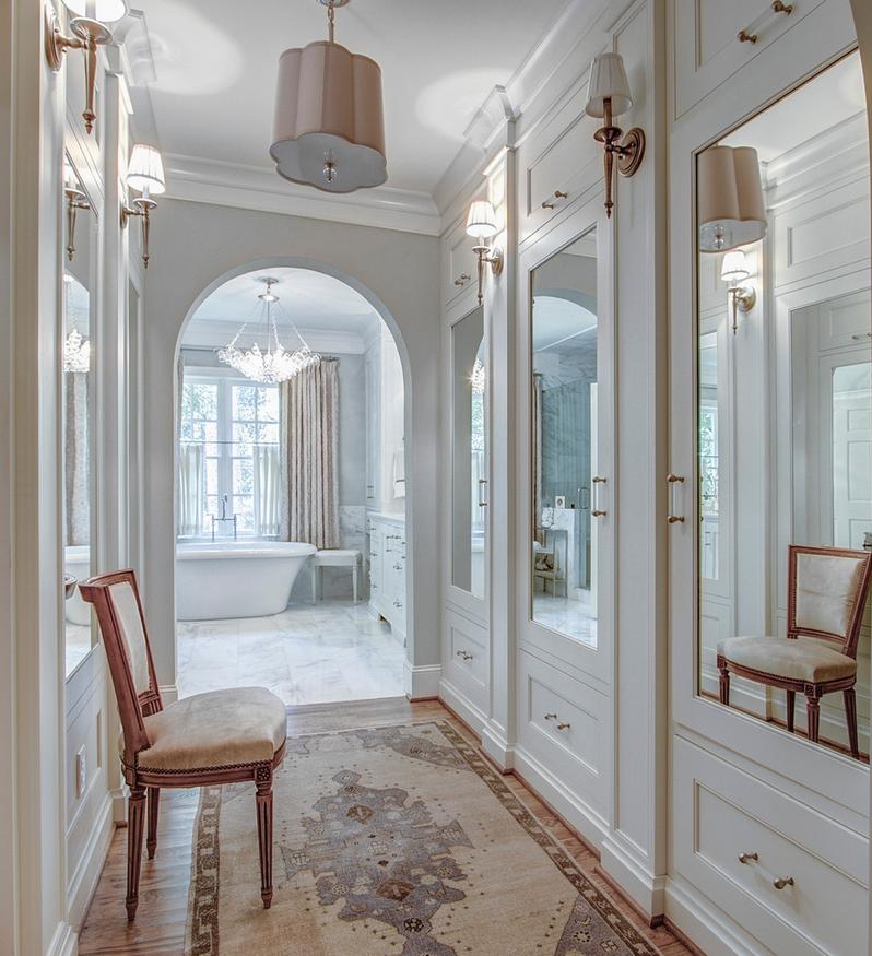 Hallway to Master Bath