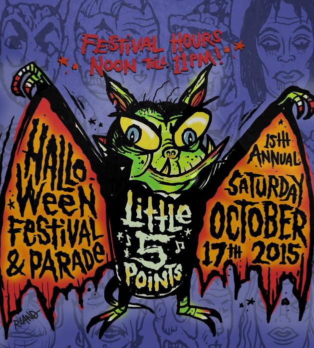 Little 5 Points Halloween parade