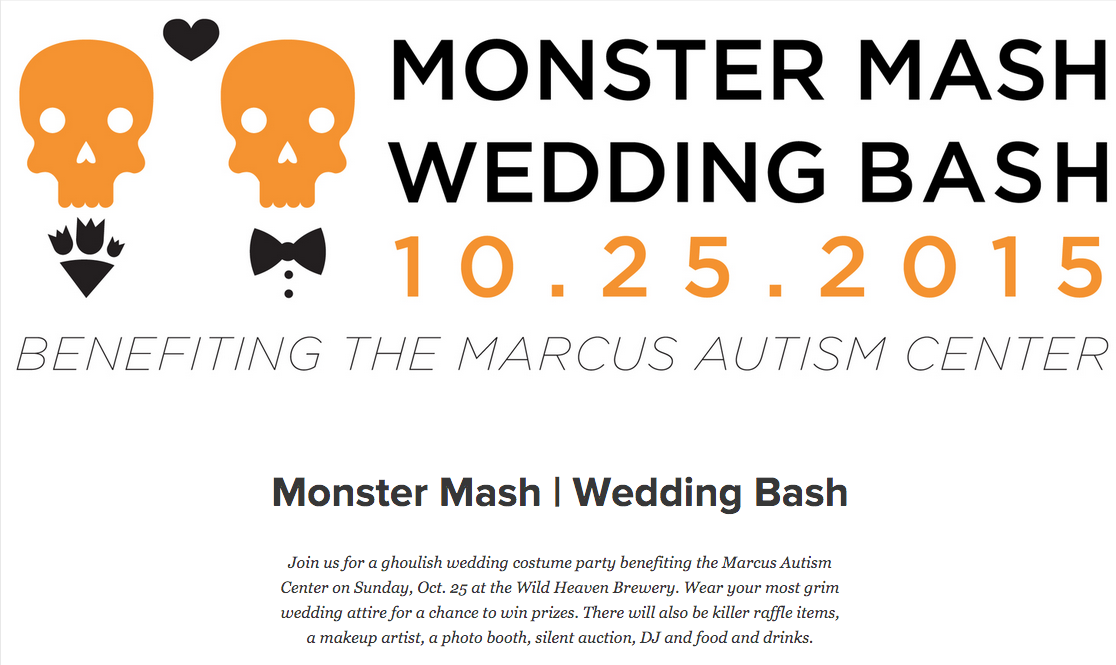 Monster Mash Wedding Bash