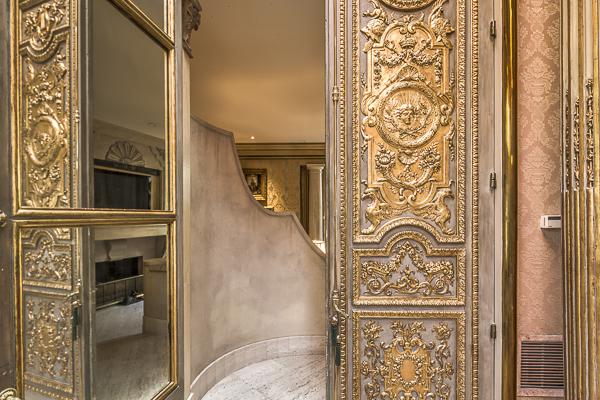 Doors to master suite