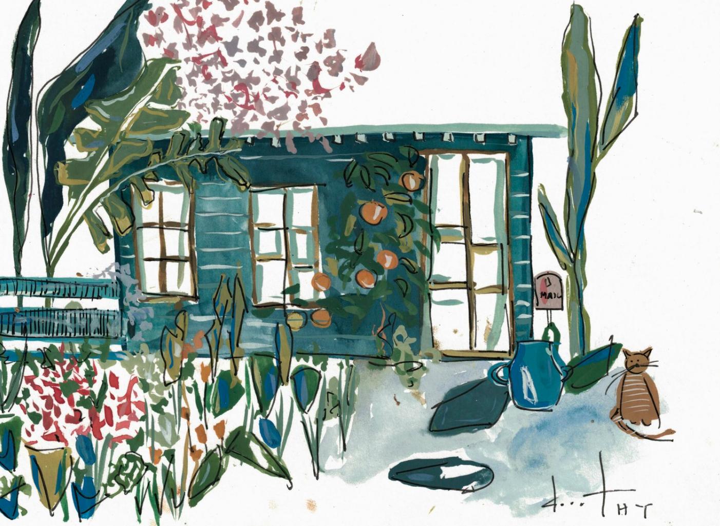 Artist Dorothy Shain