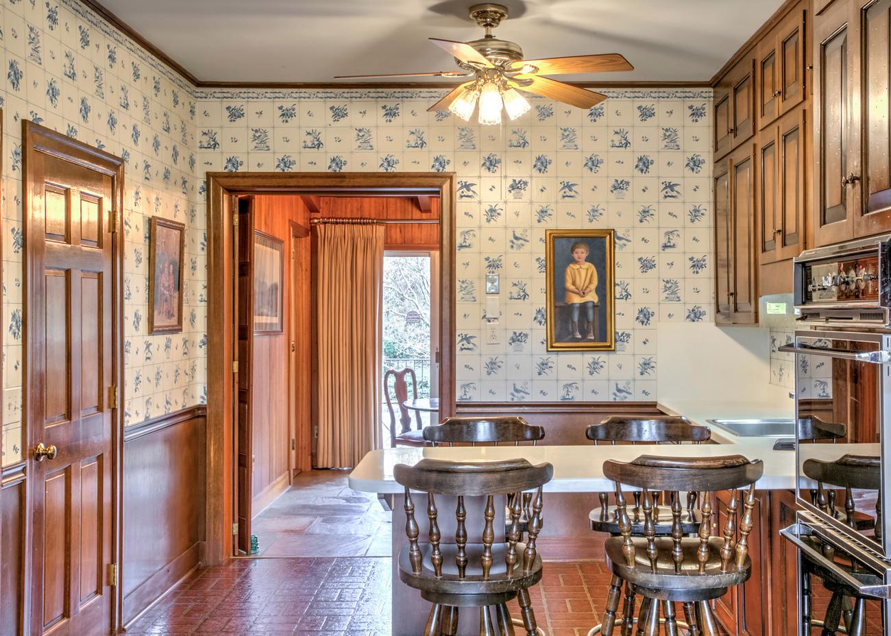 original untouched kitchen