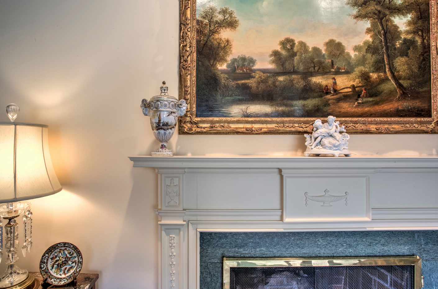 original fireplace detail