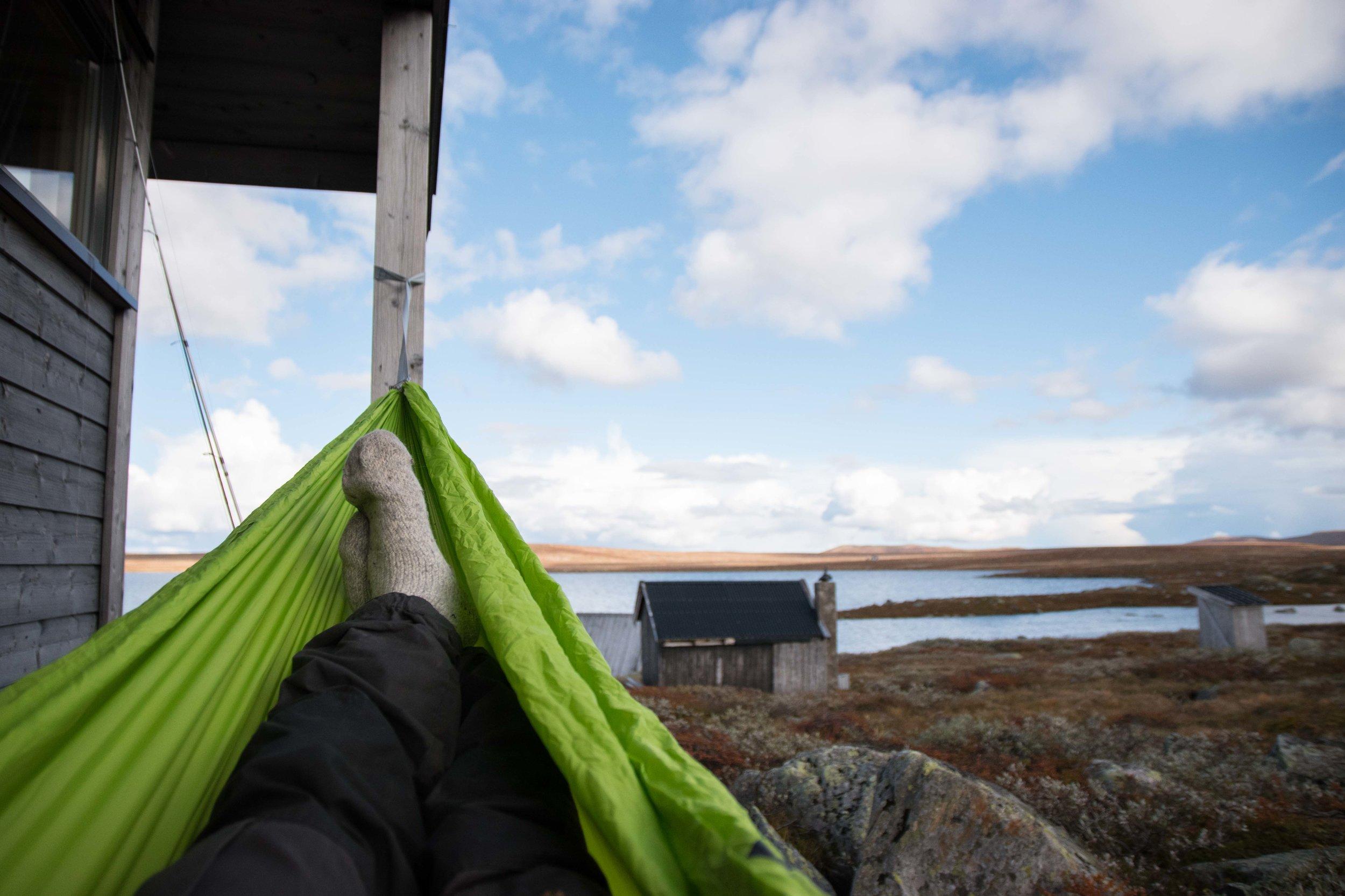 Hengekøyer til alle! - I samarbeid med Revir Oslo har vi Sea to summit hengekøyer tilgjengelig for leie og kjøp!